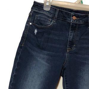 Apt 9 crop skinny jeans 10